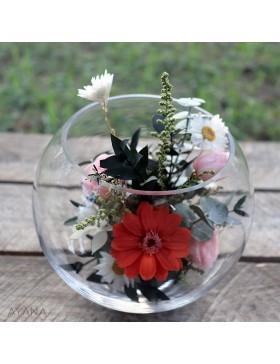 Vase-boule-en-fleurs-campagne-aixoise