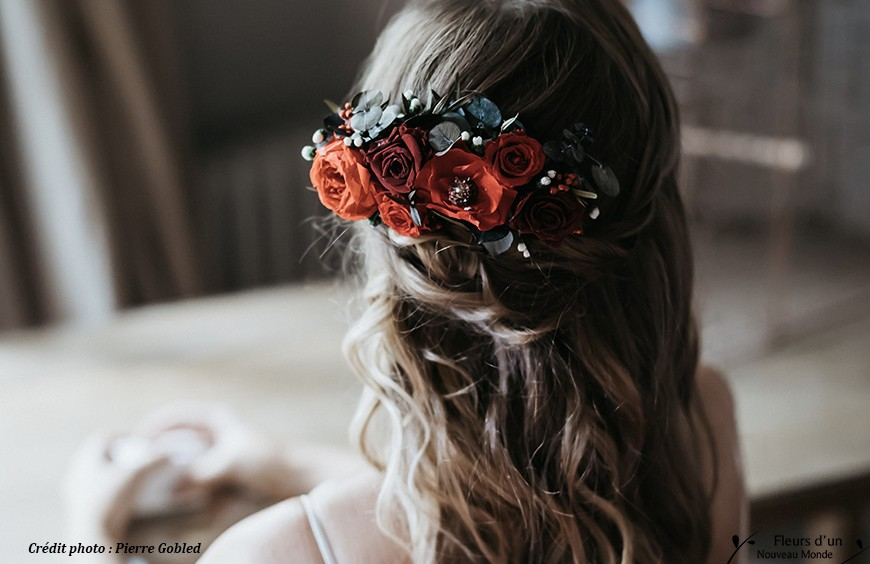 Preserved flowers, the essential beauty accessory for brides 2019